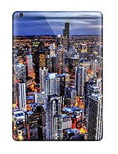 Snap-on Case Designed For Ipad Air- City