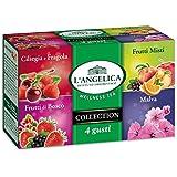 L'Angelica - Misto Infusi, 4 Gusti - 2 confezioni da 20 filtri [40 filtri]