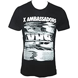 X-Ambassador Men's VHS Tour T-Shirt Black 2XL