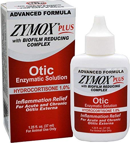 - Zymox Plus Otic-HC Advanced Formula (1.25 oz)