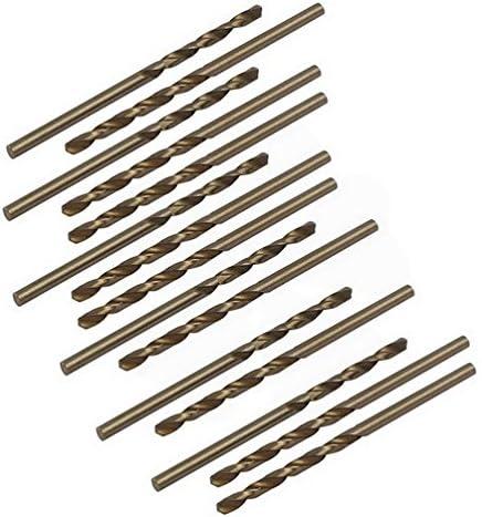 2.7mm Dia Split Point HSS Cobalt Metric Twist Drill Bit Drilling Tool 15pcs By Fuxell