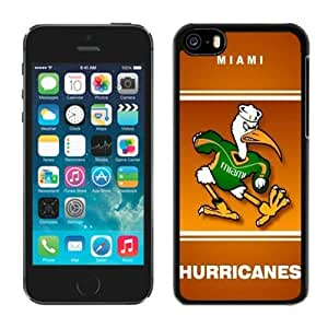 Iphone 5c Case Ncaa ACC Atlantic Coast Conference Miami (Fl) Hurricanes 6 Apple Iphone Case