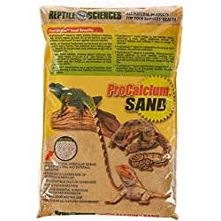 Reptile Sciences Terrarium Sand, 10-Pound, Natural Sedona
