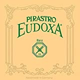 Pirastro Eudoxa 3/4 String Bass E String - Medium Gauge - Silver/Gut
