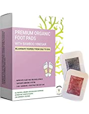 Detox Foot Pads for Better Sleep, Stress & Pain Body Relief   Upgraded 2-in-1 Cleansing Patches with Organic Bamboo Vinegar   Formulated in San Francisco   10x Lavender + 10x Rose