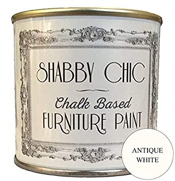 Verniciare Stile Shabby Chic.Colorante Per Mobili In Stile Shabby Chic Colore Bianco Anticato 1 Litro