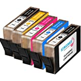 Icinginks Edible CLEANING CARTRIDGES COMBO PACK for Canon CLI-271/PGI-270 XL's Series With Chip (5 pack)