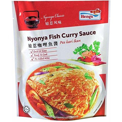 Salsa 200g nyonya pescado al curry de Heng