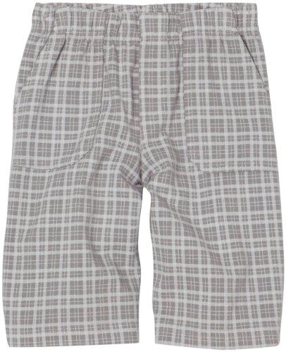 City Threads Little Boys' Soft Jersey Plaid Shorts