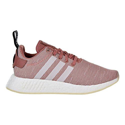 (adidas Originals Women's NMD_R2 Running Shoe, ash Pink White, 8 M US)