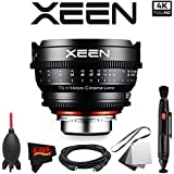 Rokinon Xeen 14mm T3.1 Lens for PL Mount with Professional Accessory Kit