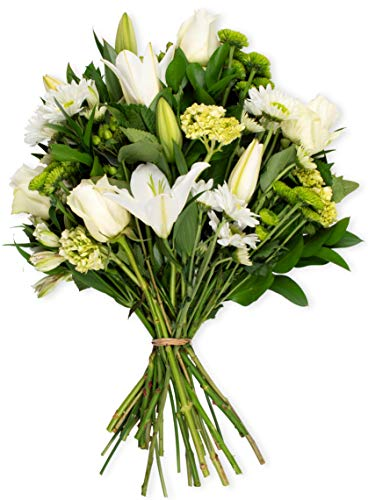 Benchmark Bouquets Blissful Blossoms White, No Vase (Fresh Cut Flowers)