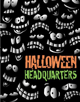 Halloween Headquarters - Standard Poster - 22