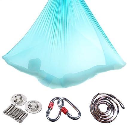 Amazon.com : BIU Aerial Yoga Hammock, Premium Aerial Silk ...
