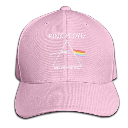 Men's Hats Pink Floyd Dark Side Of The Moon Pink Graduation Match Cap (Dark Side Of The Moon 30th Anniversary Vinyl)