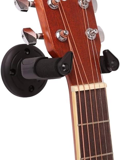 Yeying123 Colgador de Guitarra Percha de Pared Estable para Todo ...