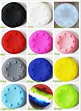 Colorful Silicone Accessories Replacement Parts Thumb Stick Grip Cap Cover For PS2, PS3, PS4, XBox 360, XBox Game Analog Controller(pack of 12 Pairs) For Sale