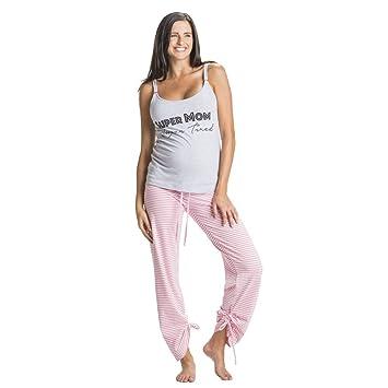 861d15b5f1d64 Amazon.com  You! Lingerie Super Mom Super Tired Maternity Nursing ...