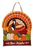 Evergreen Thanksgiving Holiday Door Décor (Give Thanks) Review