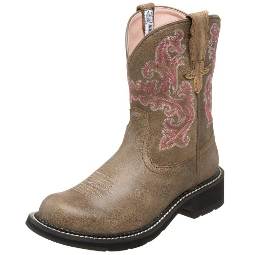 Ariat Women's Fatbaby II Western Cowboy Boot, Brown Bomber, 7.5 M US