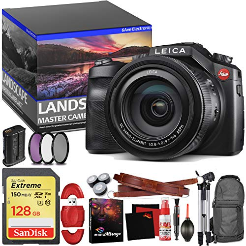 - Leica V-LUX (Typ 114) Digital Camera - Master Landscape Photographer Kit - Memory Card - Accessories