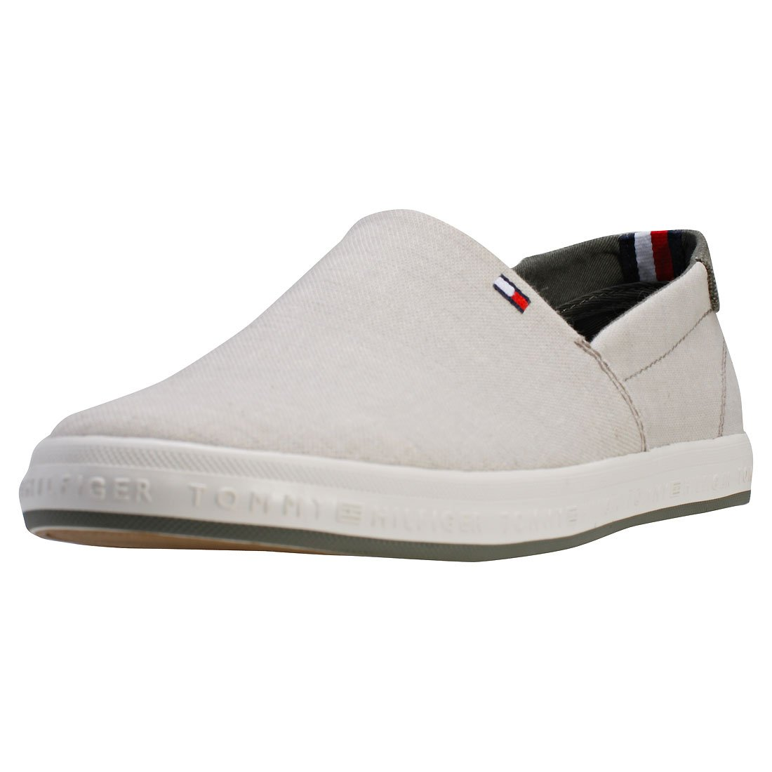 Tommy Hilfiger Zapatillas Zapatillas Slip on Denim 40 EU|Gris