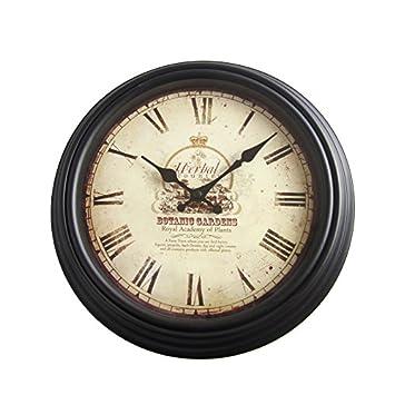 Amazonde Vintage Wanduhr ø 30 Cm Retro Look Anitk Clock Bürouhr