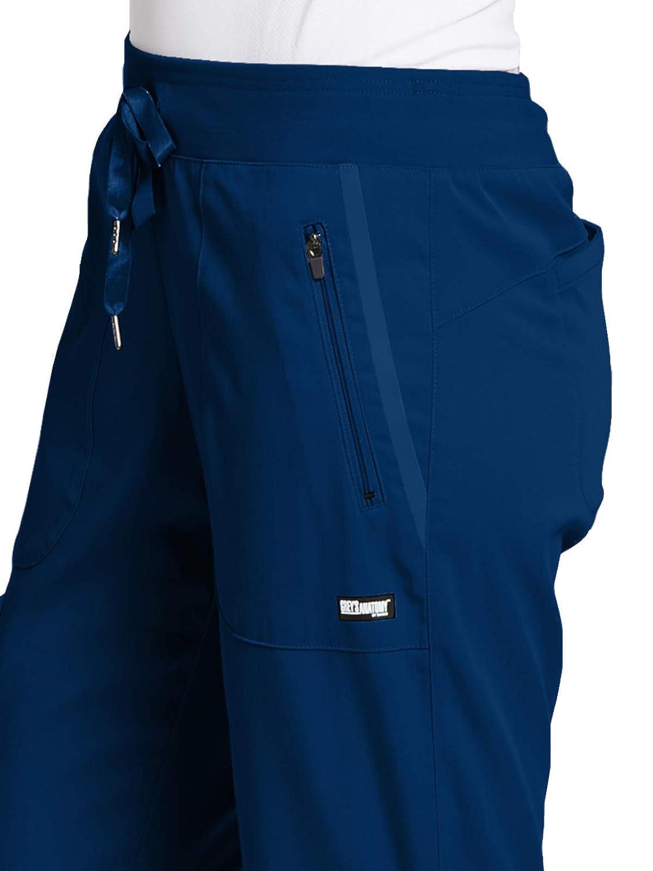88c03f48042 Amazon.com: Grey's Anatomy Impact Elevate Pant for Women - Extreme Comfort  Medical Scrub Pant: Clothing