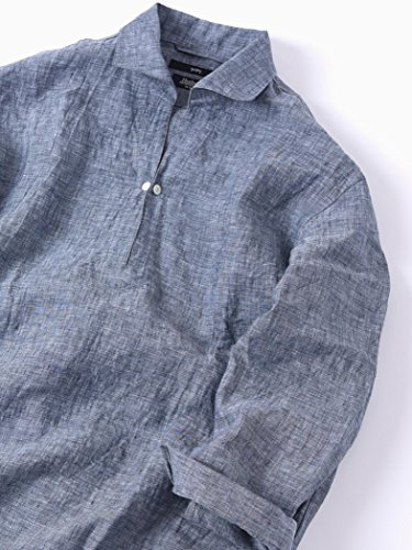 レプリカ満たす仕様(シップス) SHIPS ワイシャツ SC: Herdmans リネン 7スリーブ カプリ シャツ□ 111310200
