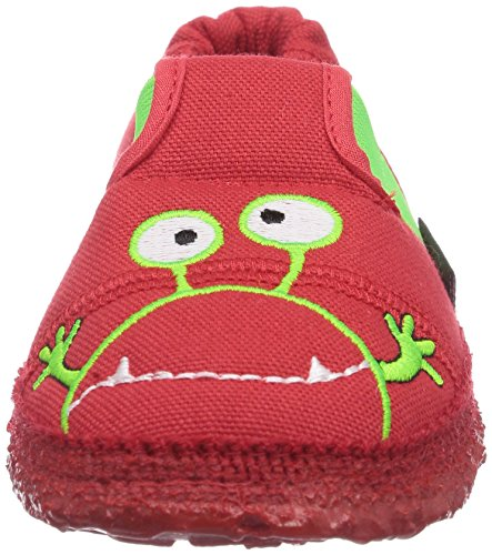 Nanga Moonstar - pantuflas de lana niño rojo - Rot (Rot 20)