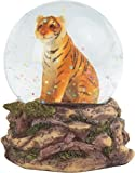 StealStreet Orange Bengal Tiger Snow Globe, 3.25''