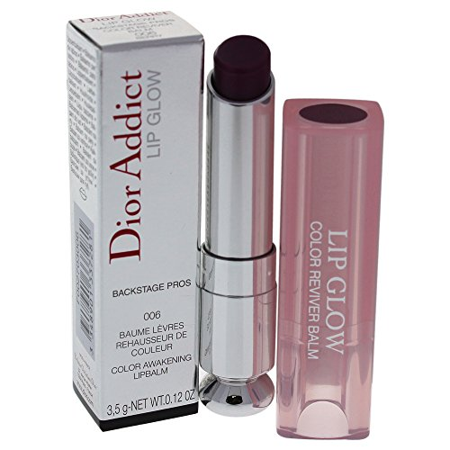 Christian Dior Christian Dior Addict Lip Glow Color Awakening Balm, Berry, 0.12 Oz, 0.12 Oz