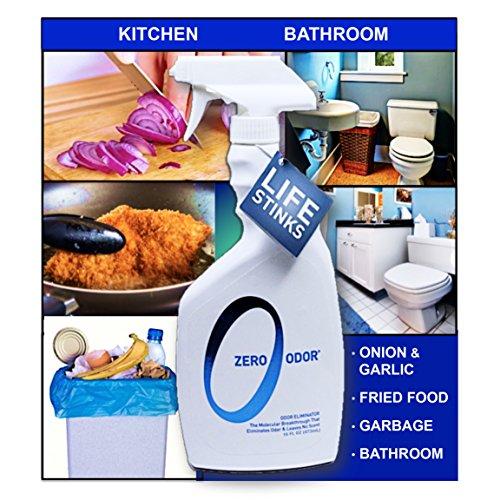 Zero Odor Multi-Purpose Household Odor Eliminator, Trigger Spray, 16-ounces New : eBay