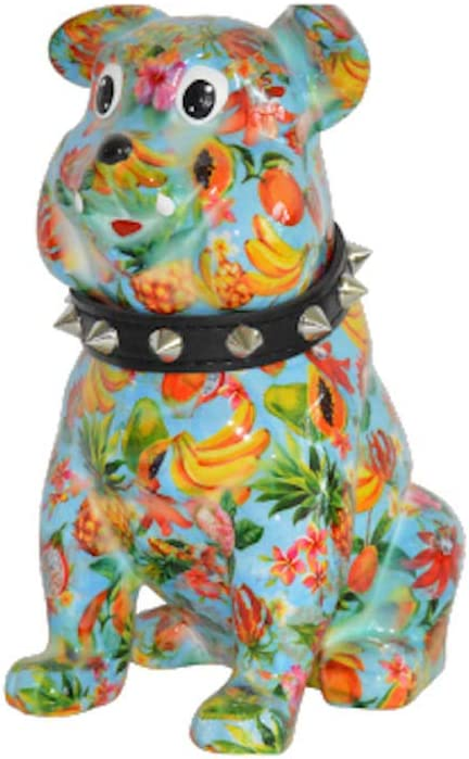Money Bank Pomme-Pidou Buddy The Bulldog Light Blue