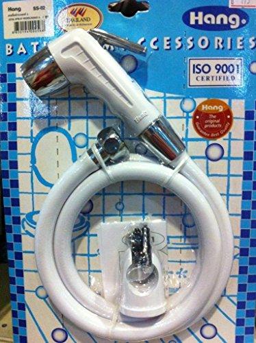 Bum Gun Water Toilet Kitchen Sprayer Bathroom Bidet Hand Held Shower, Pre Rinse Spray Nozzle Set (Handheld Shower Head Enema compare prices)