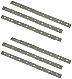 POWERTEC 13 Inch Heat Treated M2 Laminated HSS Inch Knives for DeWalt 735 Planer   Dual Sided Replacement Planer Blades DW7352– 2 Sets   6 Blades