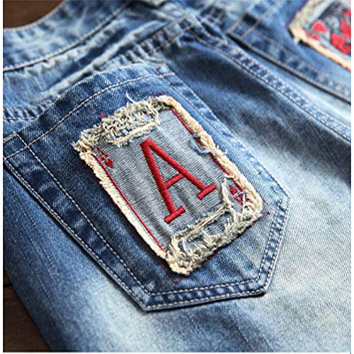 E Europa America Cerniera Jeans Piccolo Con Ricamati Lavati Slim Azzurro Uomo Da Sundry Drittopantaloni tIFUwqxZWI