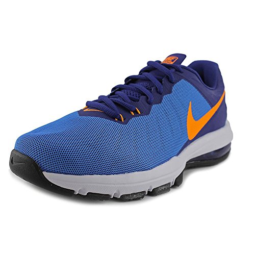 Nike Mens Air Max Full Ride Tr Cross Trainer Pht Bl / Vvd Orng-dp Ryl Bl-gmm