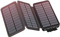 YONSIEO Solar Charger Power Bank Portabl...
