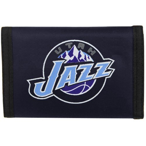 Utah Jazz NBA Nylon Trifold Wallet