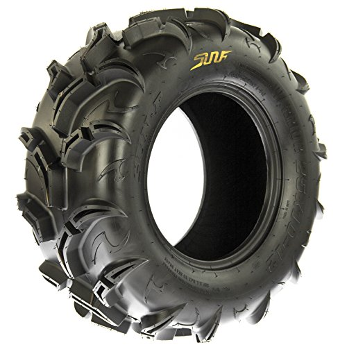 SunF Warrior AT-Mud & Trail ATV/UTV Off-Road Tires (26x9-12 Front & 26x11-12 Rear) , 6 PR (Full Set of 4)|A048 by SunF (Image #9)