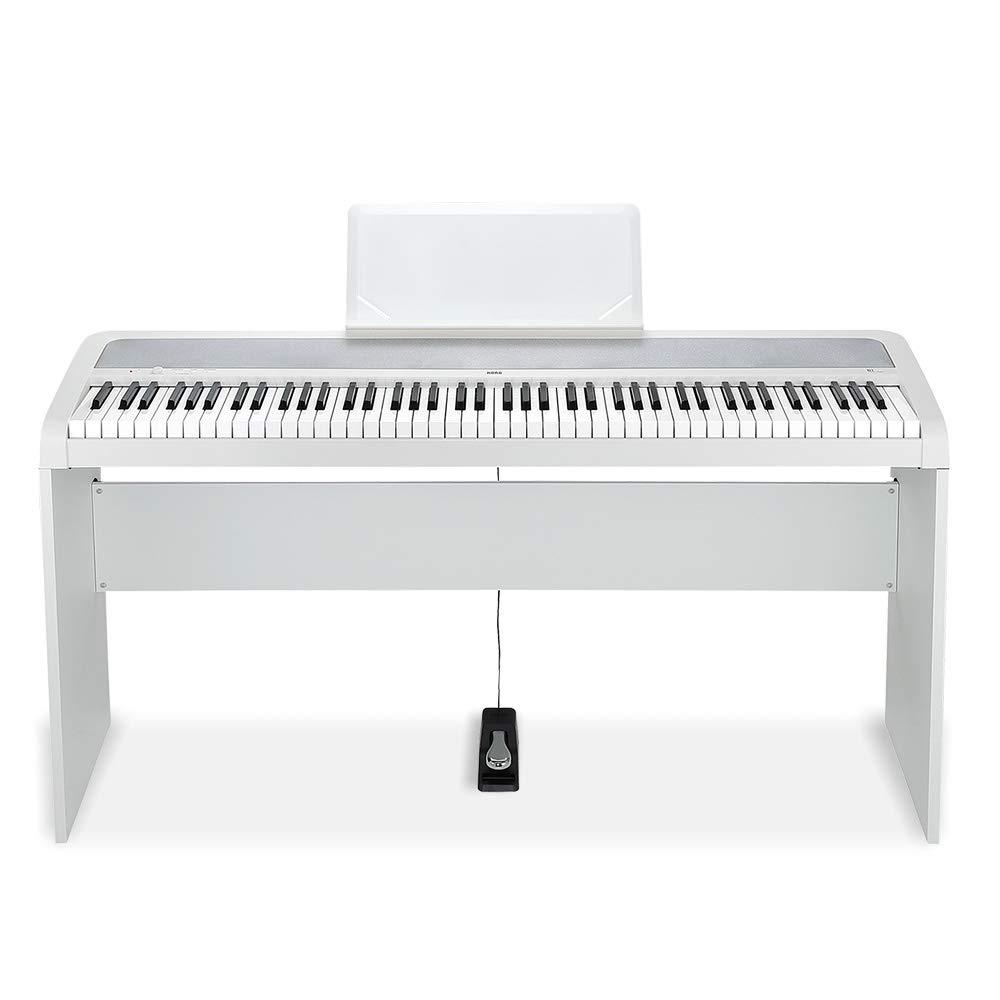 【訳あり】 KORG B1 (コルグ B1 KORG WH(ホワイト) 専用スタンドセット 電子ピアノ (コルグ B1WH+STB1WH)B01C2KSEHG, ProShop伊達:ea9bfe6f --- a0267596.xsph.ru
