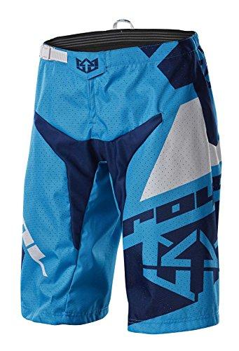 Royal Racing Victory Race Shorts, Cyan Blue/Navy Blue/White, Medium by Royal Racing
