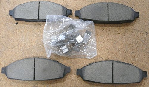 Oem Factory Ford 2003 2004 2005 2006 2007 2008 2009 2010 2011 03 04 05 06 07 08 09 10 11 Crown Vic Town Car Grand Marquis Motorcraft Brake Front Pads Shoes Disc Br-931-b