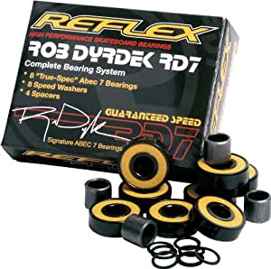 reflex abec 7 dyrdek signature bearings. Black Bedroom Furniture Sets. Home Design Ideas