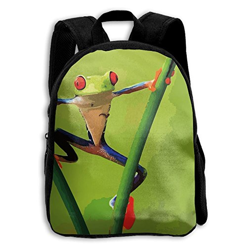 Tree Frog School Backpack Children Shoulder Daypack Kid