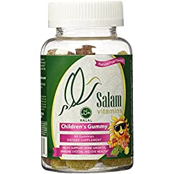 Salam Vitamins, Children's Halal & Vegan Gummy Vitamins, 60 Count