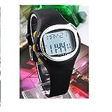 New 4th Generation Digital LCD Pulse Heart Rate Calories Monitor Watch Men