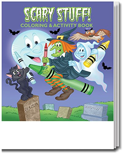 (Scary Stuff Kid's Coloring & Activity Book in Bulk)