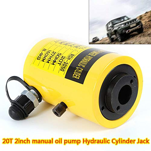 Manual 20t - Separate Hydraulic Jack 20T/44000LBS 2 Inch Manual Oil Pump Hydraulic Cylinder Jack Durable